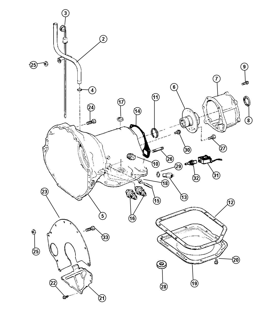 1999 Jeep Wrangler Connector  Wiring  Engine  Related