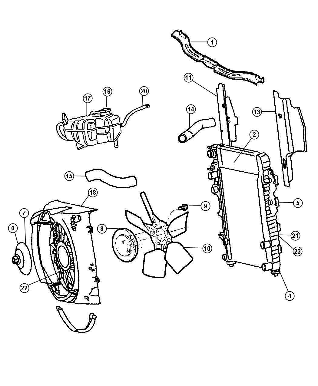 Jeep Liberty Cooler  Oil  Engine