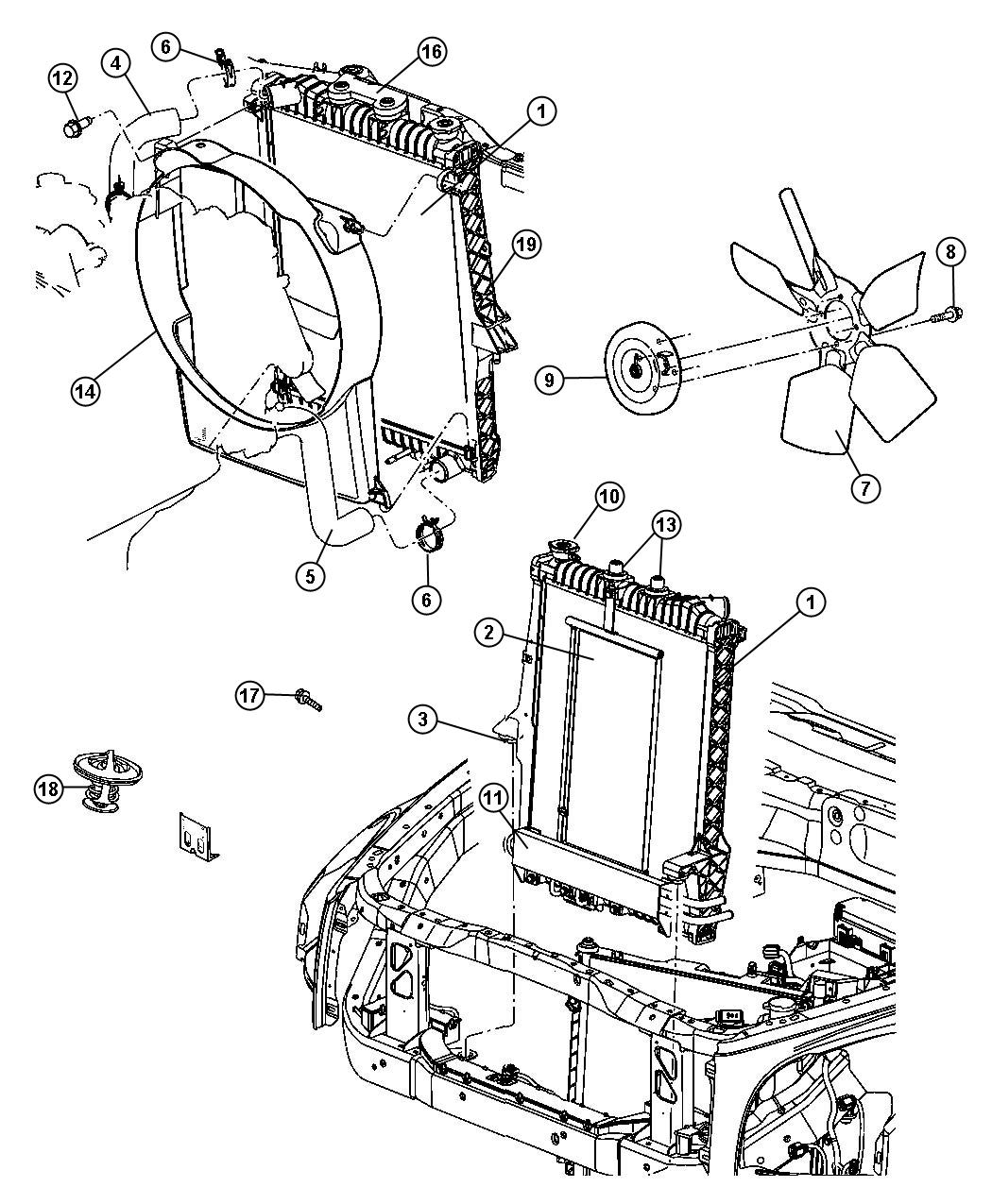 35 2001 dodge durango cooling system diagram