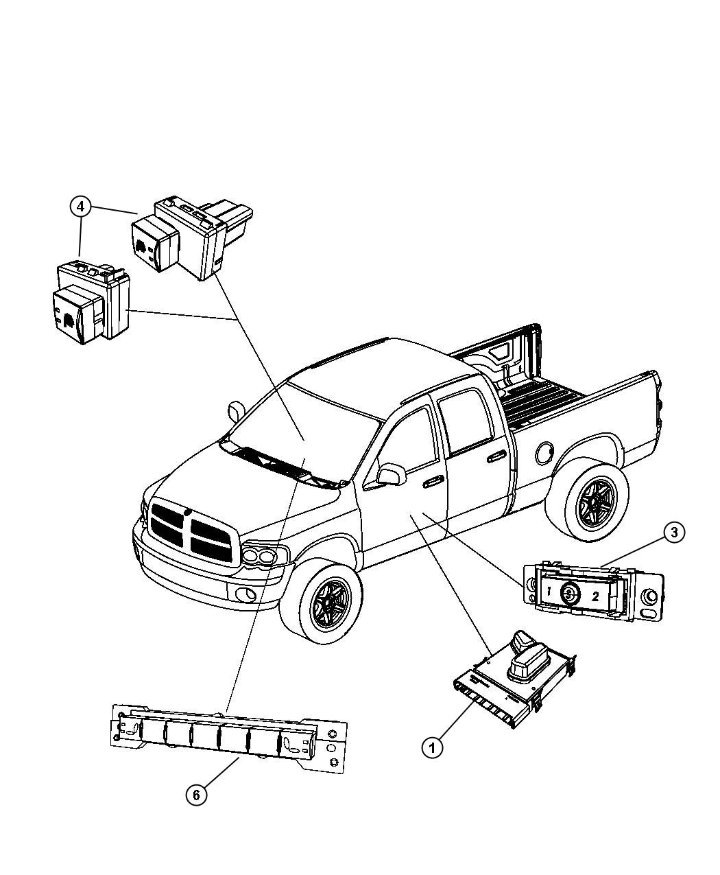 chrysler town and country parts diagram front seat