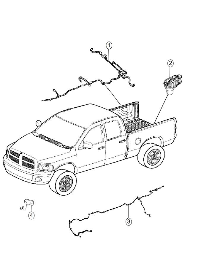 2015 Ram 1500 Jumper  Front Axle Disconnect  Wiring