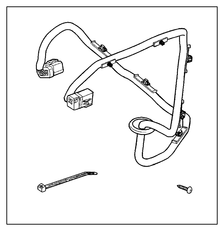 82204724ab - chrysler wiring  trailer tow