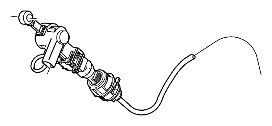 2004 Dodge Ram 1500 Cable  Shift  After  01  08  03