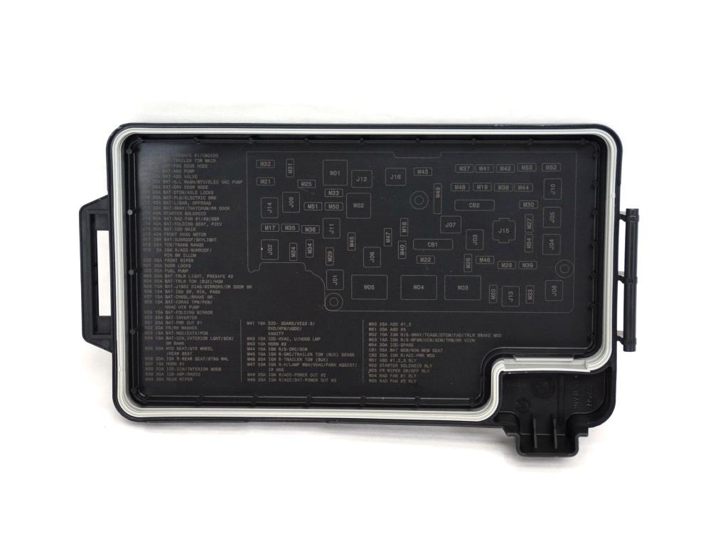 2010 Dodge Ram 1500 Cover  Totally Integrated Power Module  Distribution  Center  Relays